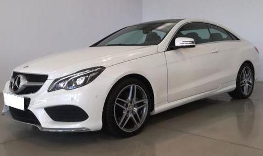 2014 Mercedes Benz E200 7G Plus automatic coupe luxury car for sale in Spain Costa del Sol Marbella Mijas Costa Malaga