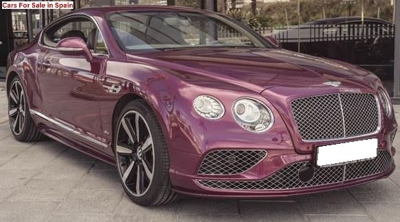 2016 Bentley Continental GT Speed coupe luxury car for sale in Spain Costa del Sol Marbella Mijas Costa Malaga