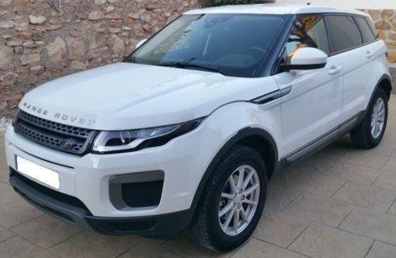 2016 Land Rover Range Rover Evoque TD$ Pure 4x2 for sale in Spain Costa del Sol Marbella Mijas Costa Malaga
