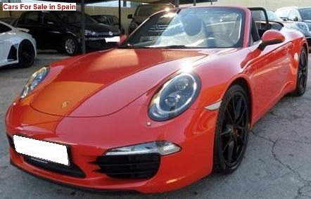 2016 Porsche 991 cabriolet automatic convertible sports car for sale in Spain Costa del Sol Marbella Mijas Costa Malaga