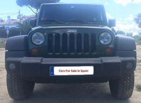 2007 Jeep Wrangler Unlimited X 2.8 CRD diesel manual 4x4 SUV for sale in Spain Costa del Sol Marbella Mijas Costa Malaga