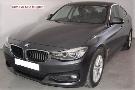 2014 BMW 318d Gran Turismo diesel automatic 5 door hatchback car for sale in Spain Costa del Sol Marbella Mijas Costa Malaga