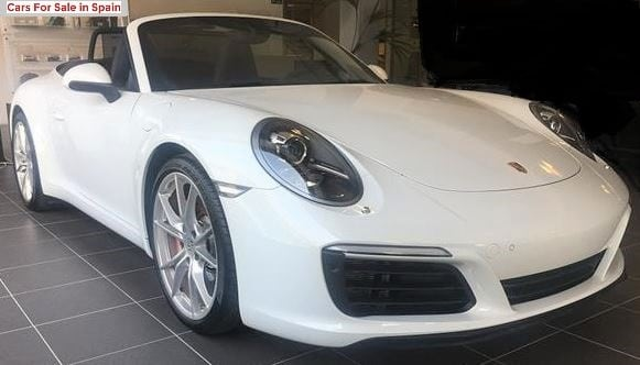 2015 Porsche 911 Carrera S Cabriolet PDK automatic convertible sports car for sale in Spain Costa del Sol Marbella Mijas Costa Malaga