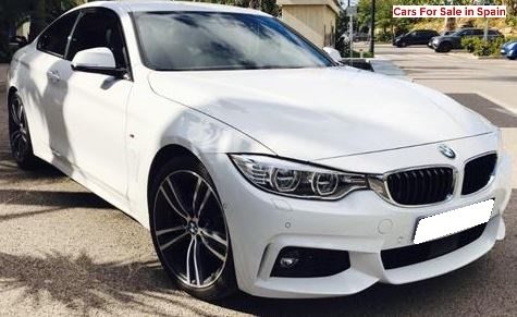 2016 BMW 420d diesel automatic F32 4 series coupe for sale in Spain Costa del Sol Marbella Mijas Costa Malaga