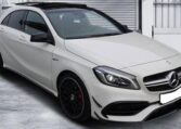 2016 Mercedes-Benz A45 AMG 4matic 7G DCT automatic 5 door hatchback car for sale in Spain Costa del Sol Marbella Mijas Costa Malaga