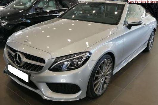 2017 Mercedes-Benz C220d cabriolet diesel automatic convertible car for sale in spain costa del sol marbella mijas costa malaga