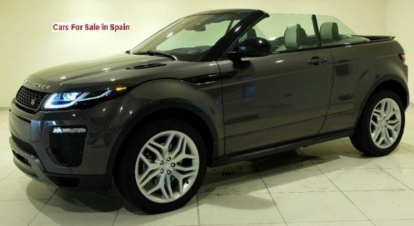 NEW 2018 Land Rover Range Rover Evoque cabriolet 2.0 Dynamic HSE automatic 4x4 SUV for sale in Spain Costa del Sol Marbella Mijas Costa Malaga