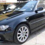 2005 BMW 320i cabriolet automatic 3 series E46 facelift convertible car for sale in Spain Costa del Sol Marbella Mijas Costa Malaga