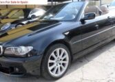 2005 BMW 320i cabriolet automatic 3 series E46 facelift convertible car for sale in Spain Costa del Sol Marbella Mijas Costa Malaga