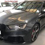2015 Audi RS3 automatic 5 door fastback hatchback car for sale in Spain Costa del Sol Marbella Mijas Costa Malaga
