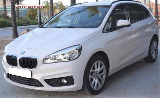 2015 BMW 218 automatic F45 2 series Active Tourer car for sale in Spain Costa del Sol Marbella Mijas Costa Malaga
