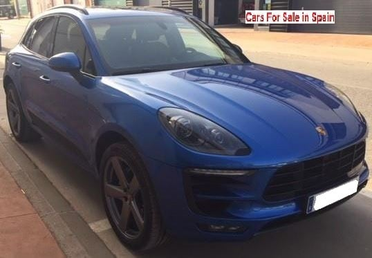 2015 Porsche Macan S 3.0 diesel automatic 4x4 SUV for sale in Spain Costa del Sol Marbella Mijas Costa Malaga