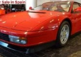 1988 Ferrari Testarossa coupe sports car for sale in Spain Costa del Sol Marbella Mijas Costa Malaga