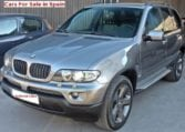 2004 BMW X5 3.0 diesel automatic 4x4 SUV for sale in Spain Costa del Sol Marbella Mijas Costa Malaga