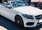 2018 Mercedes-Benz C220d Cabriolet 9G Tronic automatic convertible car for sale in Spain Costa del Sol Marbella Mijas Costa Malaga