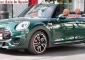 2018 Mini John Cooper Works cabriolet convertible car for sale in Spain Costa del Sol Marbella Mijas Costa Malaga