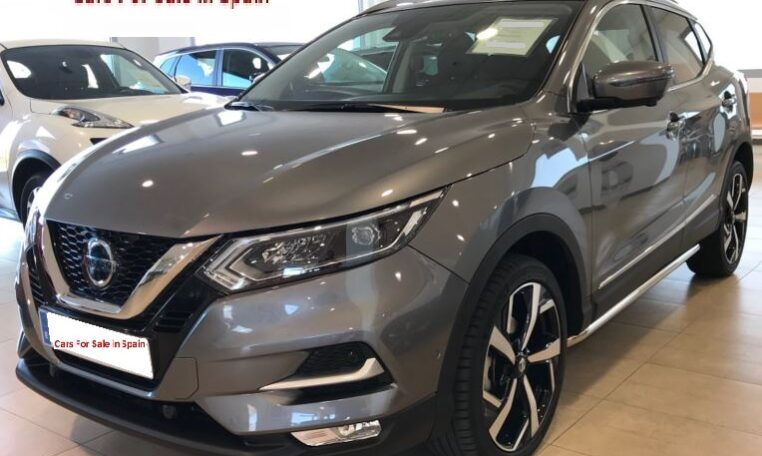 2018 Nissan Qashqai 1.6 dCi Tekna Xtronic automatic 4x2 SUV for sale in Spain on the Costa del Sol Marbella Mijas Costa Malaga