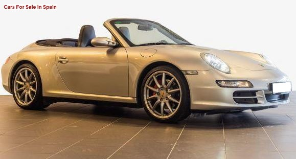 2007 Porsche 911 997 Carrera 4S Cabriolet convertible sports car for sale in Spain Costa del Sol Marbella Mijas Costa Malaga