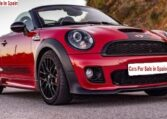 2013 Mini One John Cooper Works roadster convertible car for sale in Spain Costa del Sol Marbella Mijas Costa Malaga