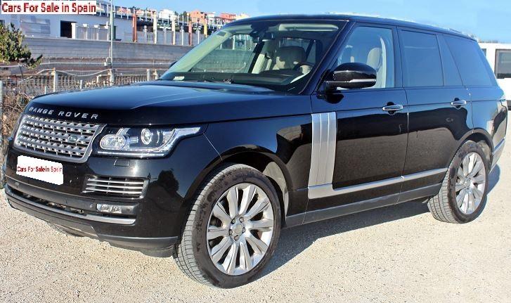 2013 Range Rover Vogue Autobiography 3.0 TDV6 4x4 for sale in Spain Costa del Sol Marbella Mijas Costa Malaga