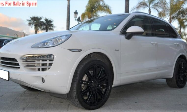 2014 Porsche Cayenne 3.0 diesel automatic Platinum Edition 4x4 SUV for sale in Spain Costa del Sol Marbella Mijas Costa Malaga