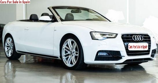 2016 Audi A5 Cabriolet 2.0 TDi Clean diesel multitronic automatic convertible car for sale in Spain Costa del Sol Marbella Mijas Costa Malaga