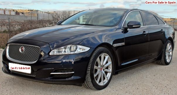 2016 Jaguar XJL 3.0 diesel LWB saloon car for sale in Spain Costa del Sol Marbella Mijas Costa Malaga