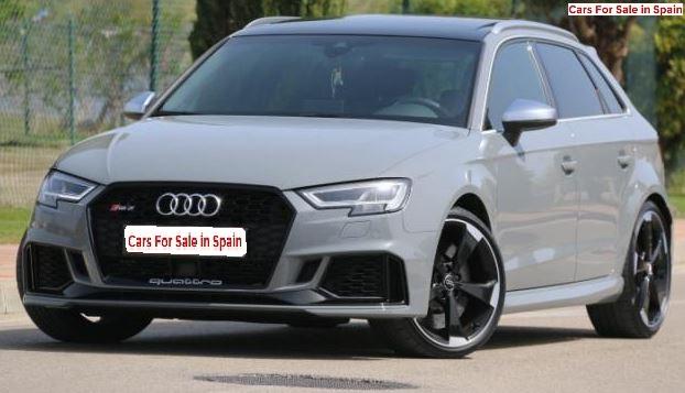 2017 Audi RS3 Sportback 2.5 automatic 5 door hatchback car for sale in Spain Costa del Sol Marbella Mijas Costa Malaga