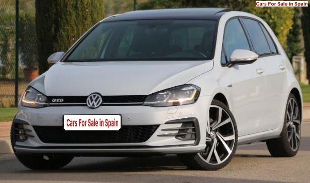 2018 Volkswagen Golf GTD 2.0 TDi BlueMotion DSG automatic 5 door hatchback car for sale in Spain Costa del Sol Marbella Mijas Costa Malaga
