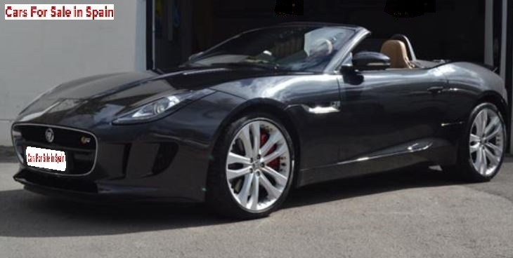 2014 Jaguar F-Type Cabriolet 3.0 V6 S Supercharged convertible sports car for sale in Spain Costa del Sol Marbella Mijas Costa Malaga